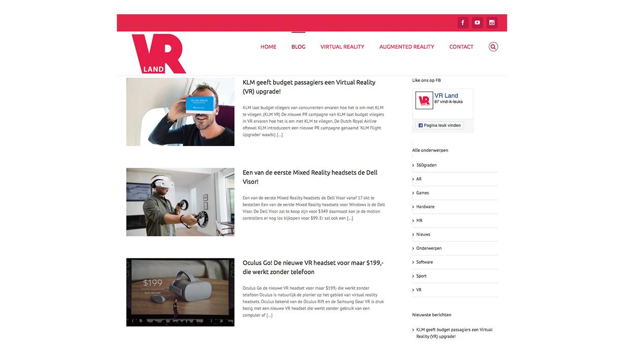 Website vrland