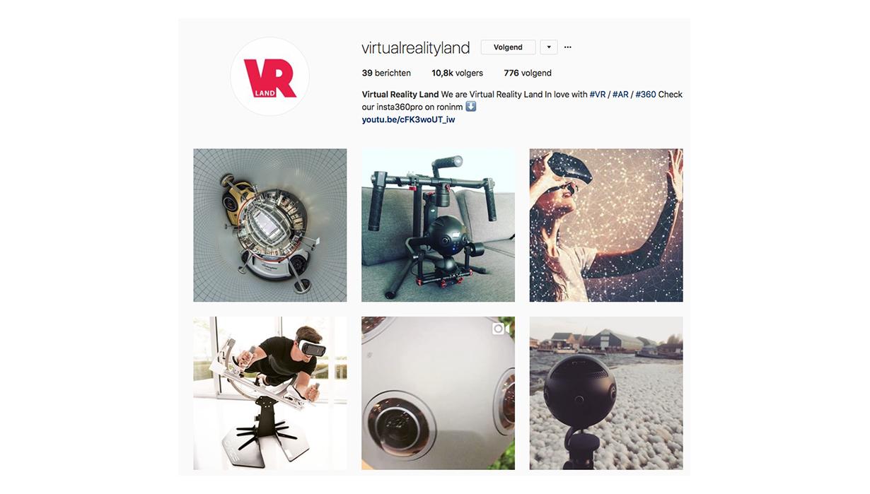 Instagram VRLAND