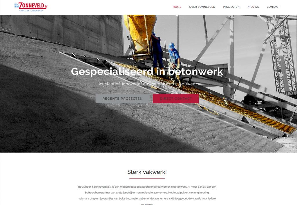 wordpress webdesign Beeldproductie